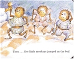 【绘本有声阅读】Five Little Monkeys Jumping on the Bed